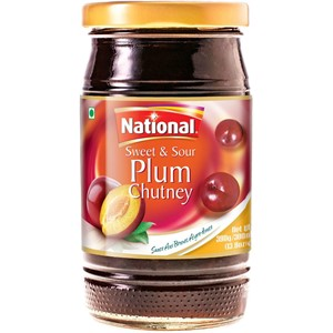 National Sweet & Sour Plum Chutney 390g