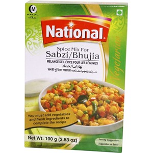 National Sabzi/Pav Bhaji 100g