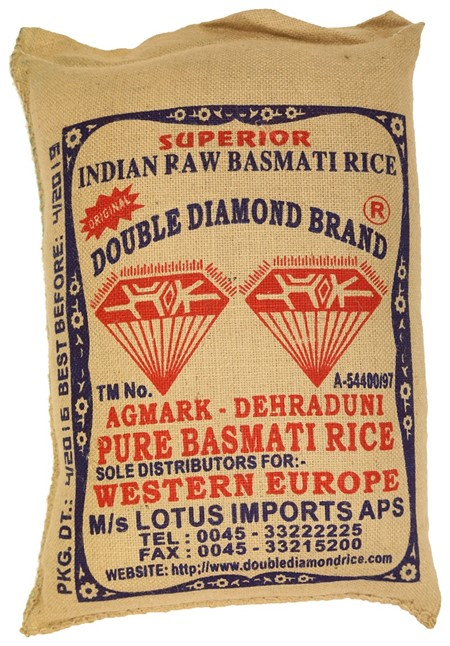Double Diamond Basmati  Rice 20kg