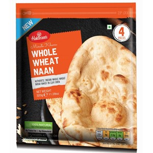 Haldirams Whole Wheat Naan 320g ***