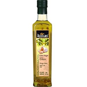 Allegro Extra Virgin Olive Oil with Garlic 250ml