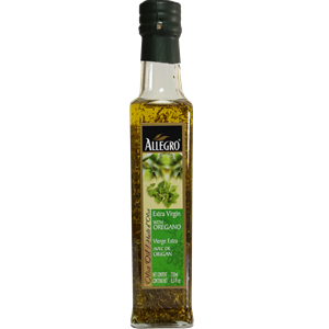 Allegro Extra Virgin Olive Oil with Oregano 250ml
