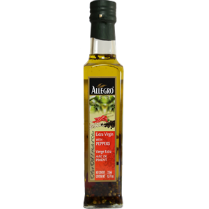 Allegro Extra Virgin Olive Oil with Peppers 250ml