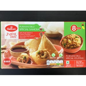Haldirams Hot and Spicy Samosa 650g ***