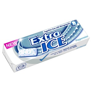Wrigley's Extra Ice Peppermint Sugar Free