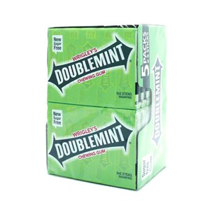 Wrigley's Doublemint Chewing Gum 5stk