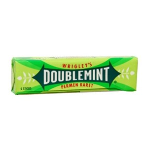 Wrigley's Doublemint Chewing Gum 7stk