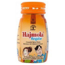 Dabur Regular Hajmola Tablets 120stk