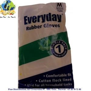 Everyday Rubber Gloves Single Small