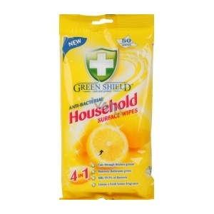 Green Shield Wipes Antibac Household 70stk