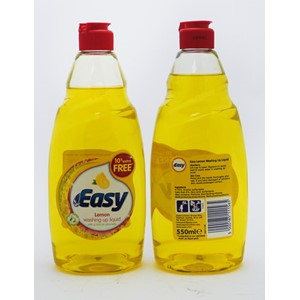 Easy Washing Up Liquid Lemon 550ml