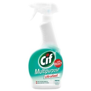 Cif Bleach Cleaning Spray Multi Purpose 450ml